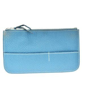 Authentic HERMES Logos Dogon Coin Wallet Purse